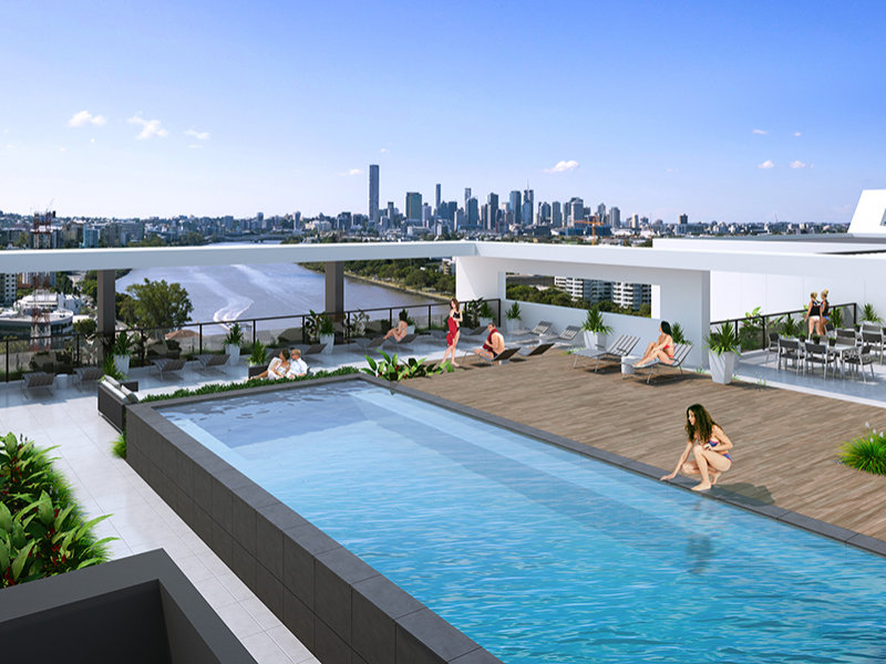 Toowong Archer Rooftop Pool